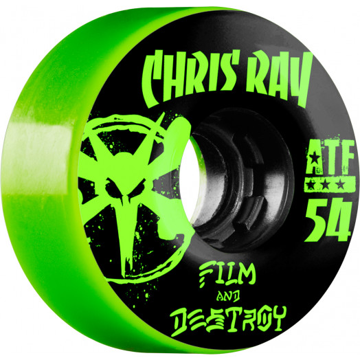 BONES WHEELS ATF Filmer Ray Destroy Wheel 54mm 4pk