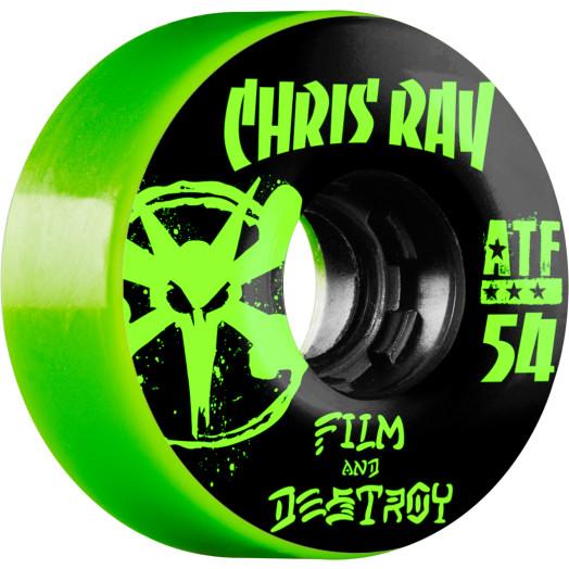 BONES WHEELS ATF Filmer Ray Destroy Wheel 54mm 4pk