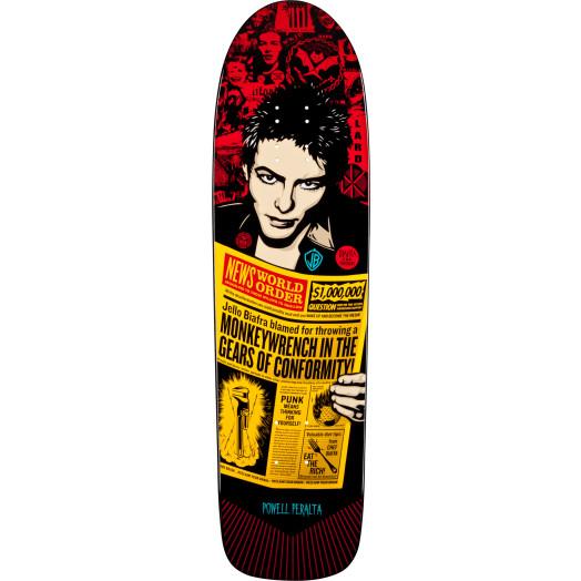 Powell Peralta Guest Artist deck Shepard Fairey 2 Skateboard Deck - 8.6 x 31.66