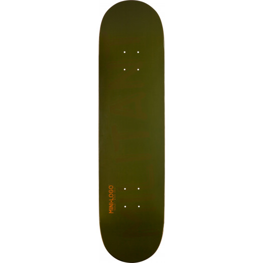 Mini Logo Militant Deck 191 Green - 7.5 x 28.65