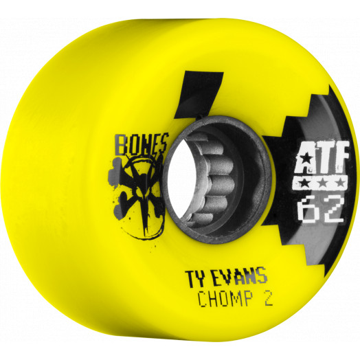 BONES WHEELS ATF Filmer Evans Chomped II Wheel 62mm 4pk