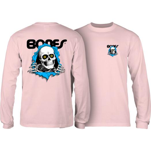 Powell Peralta Ripper YOUTH L/S T-shirt - Light Pink