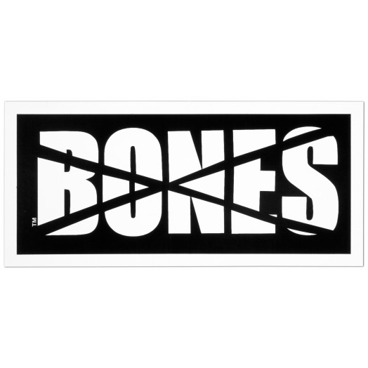 BONES WHEELS Impact Sticker Single