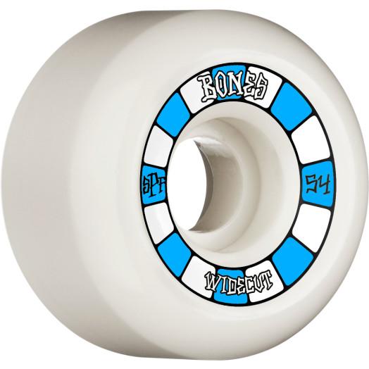BONES WHEELS SPF Skateboard Wheels Widecuts 54mm P6 Wide-Cut 84B 4pk