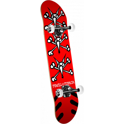 Powell Peralta Vato Rats '15' Skateboard Complete Assembly Red - 7 x 28