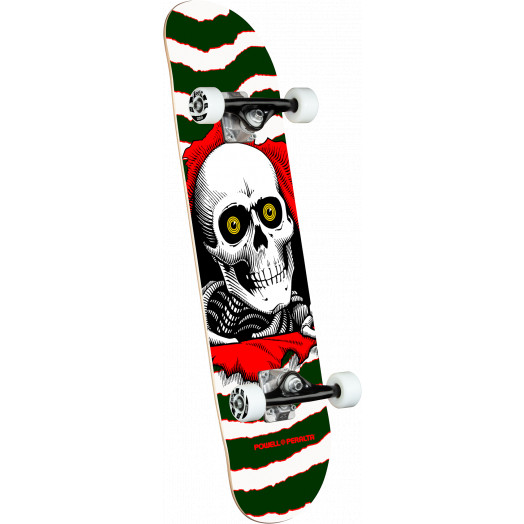 Powell Peralta Ripper One Off Green Birch Complete Skateboard - 7 x 28
