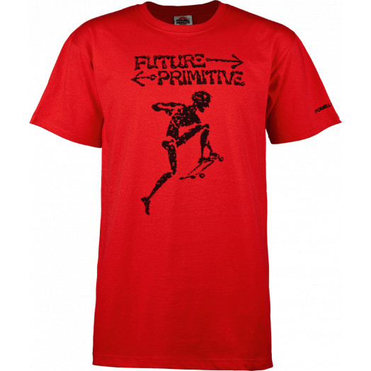 Powell Peralta Future Primitive T-shirt - Red