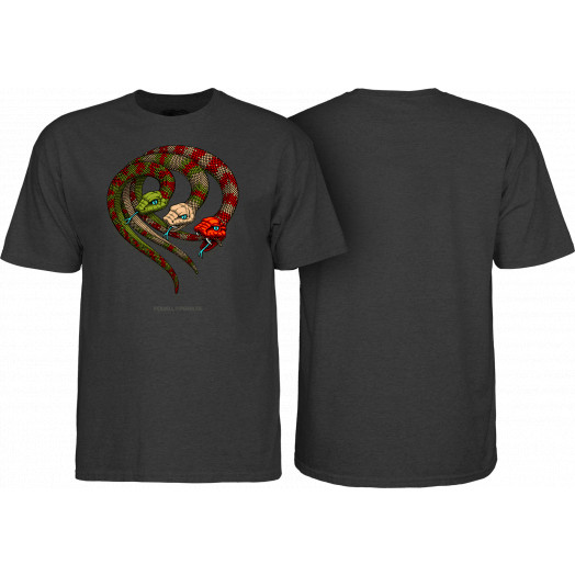 Powell Peralta Snakes T-shirt Black Heather