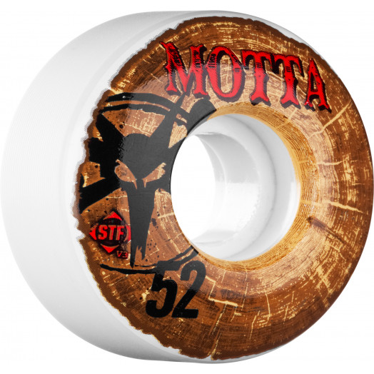 BONES WHEELS STF Pro Motta Woodies 52mm 4pk