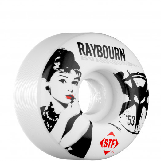 BONES WHEELS STF Pro Raybourn Hepbourn 53mm (4 pack)