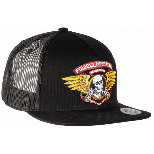 Powell Peralta Ripper Trucker Cap Black