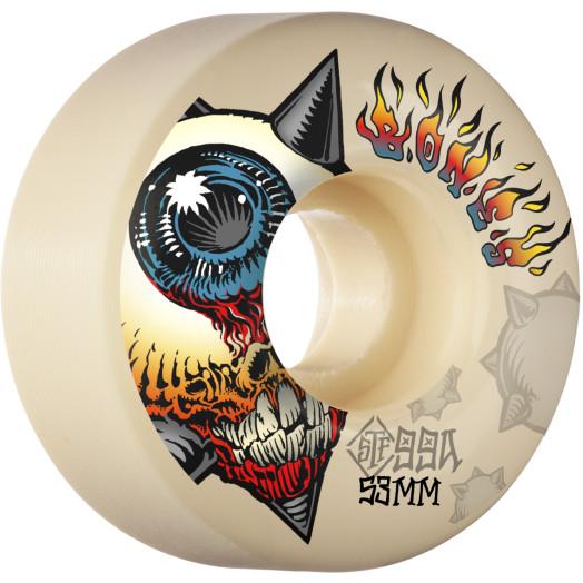 BONES WHEELS STF Skateboard Wheels Iron Sun 53mm V1 Standard 99A 4pk