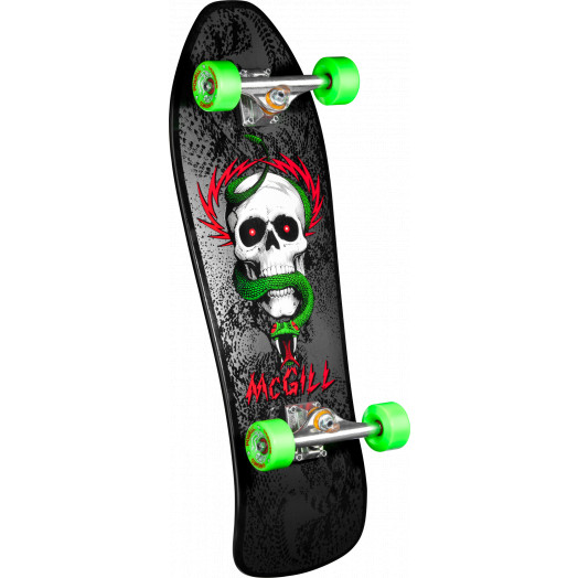 Bones Brigade® Mike McGill 5th Series Reissue Complete Skateboard Black - 9.75 x 30