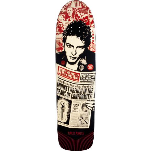 Powell Peralta Guest Artist deck Shepard Fairey Blem Skateboard Deck - 8.4 x 31.5