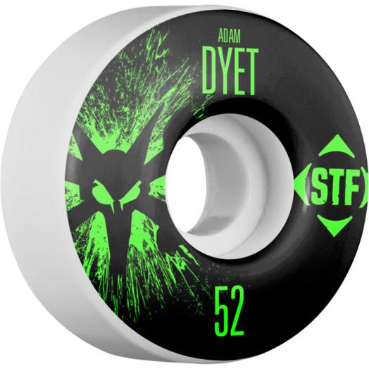 BONES WHEELS STF Pro Dyet Team Wheel Splat 52mm 4pk