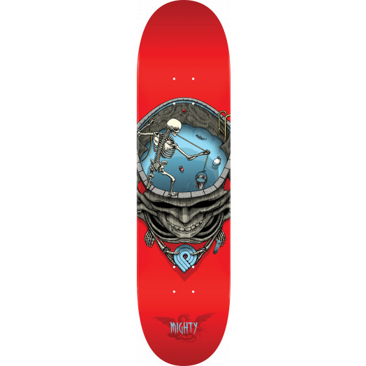 Powell Peralta Pro Mighty Pool Skateboard Blem Deck Red - 8.25 x 31.95