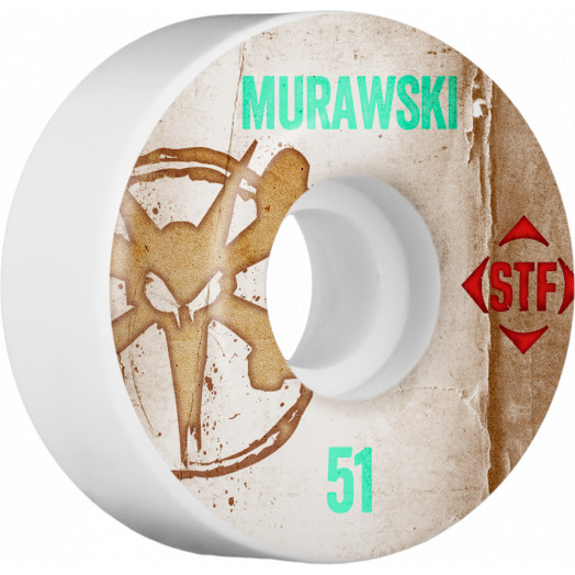 BONES WHEELS STF Pro Murawski Team Vintage Wheel 51mm 4pk