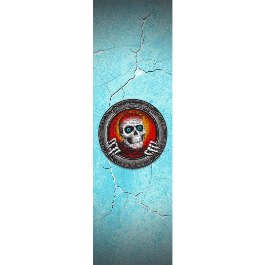 Powell Peralta Grip Tape Sheet 9 x 33 Pool Light Ripper (White)