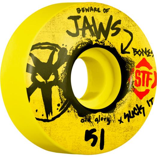BONES WHEELS STF Pro Homoki Glory 51mm wheels 4pk Yellow