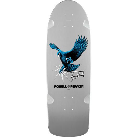 Bones Brigade® Tony Hawk OG Hawk Reissue Skateboard Deck Silver - 9.56 x 29.63