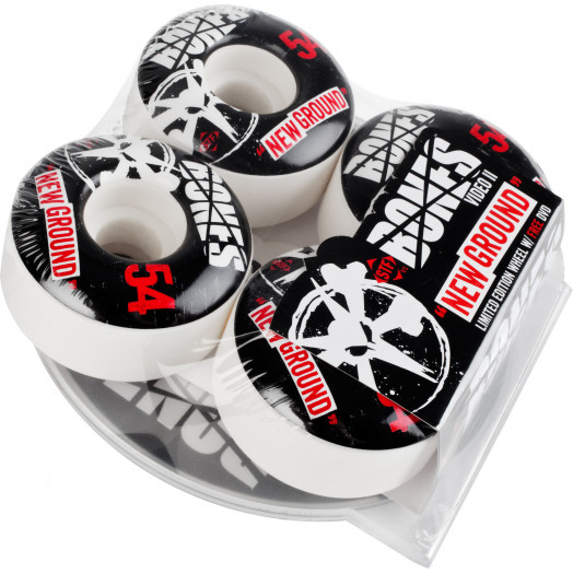 BONES WHEELS STF New Ground 54mm 4pk w/free DVD