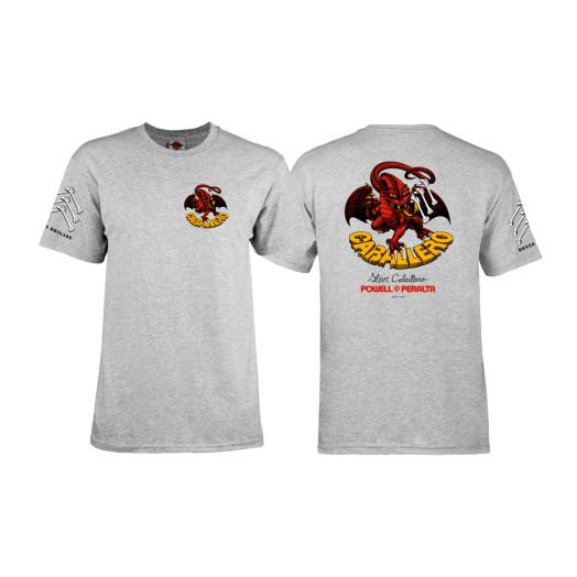 Bones Brigade® Caballero Dragon T-shirt - Gray