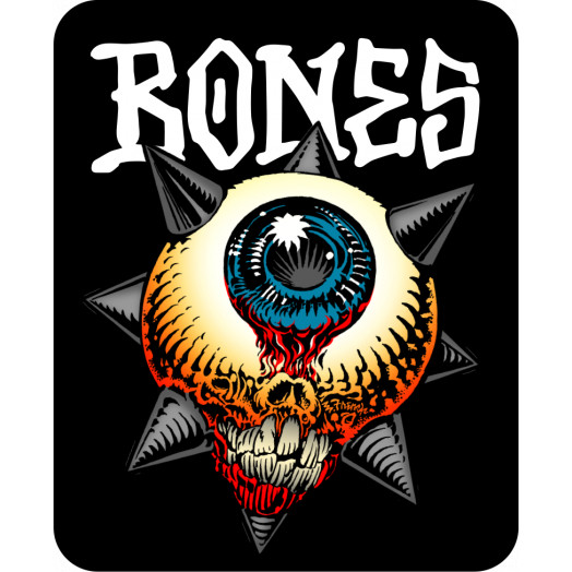 "BONES WHEELS Iron Sun 3"" Sticker 20 pack"