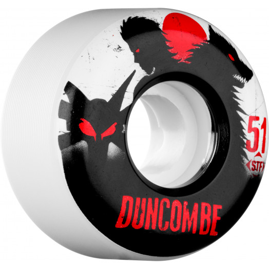 BONES WHEELS STF Pro Duncombe Werewolf 51mm 4pk