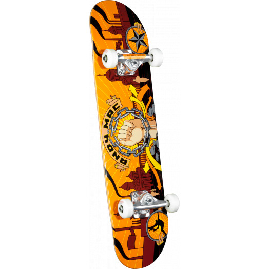 Any Macdonald Fist Complete Skateboard - 7.625 x 31.625