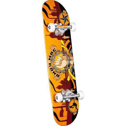 Any Macdonald Fist Complete Skateboard - 7.625 x 31.625