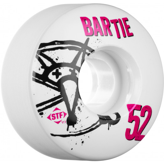 BONES WHEELS STF Pro Bartie Numbers 52mm 4pk