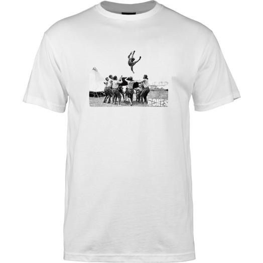 BONES WHEELS T-shirt Childs Play White