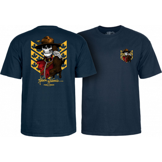 Powell Peralta Kevin Harris Mountie T-shirt Navy