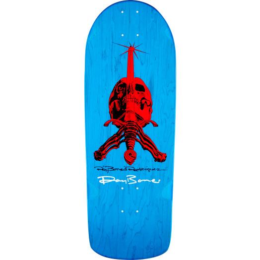Powell Peralta Steve Caballero GFL Benefit Autographed Skateboard Deck - 9.625 x 29.75