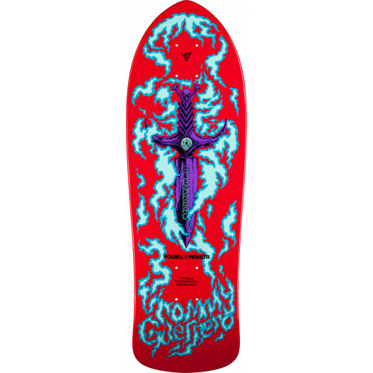 Bones Brigade® Tommy Guerrero 6th Series Reissue Skateboard Deck Red - 9.75 x 30.4