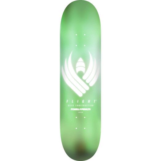 Powell Peralta Flight® Skateboard Deck Glow Mint - Shape 248 - 8.25 x 31.95