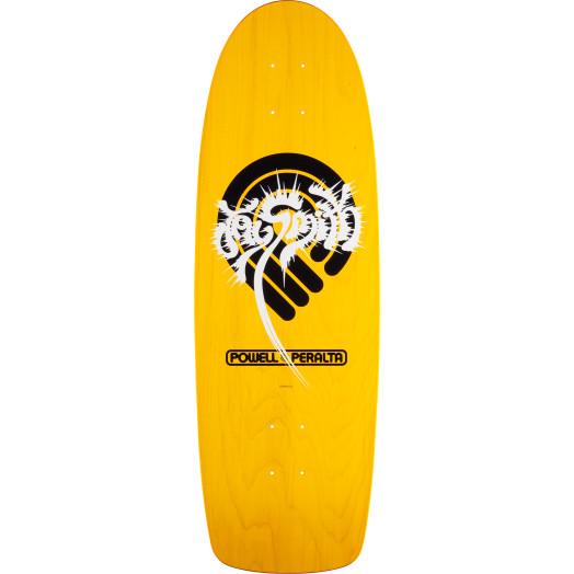 Powell Peralta Jay SMith PPP Splash Skateboard Deck Yellow - 10 x 31