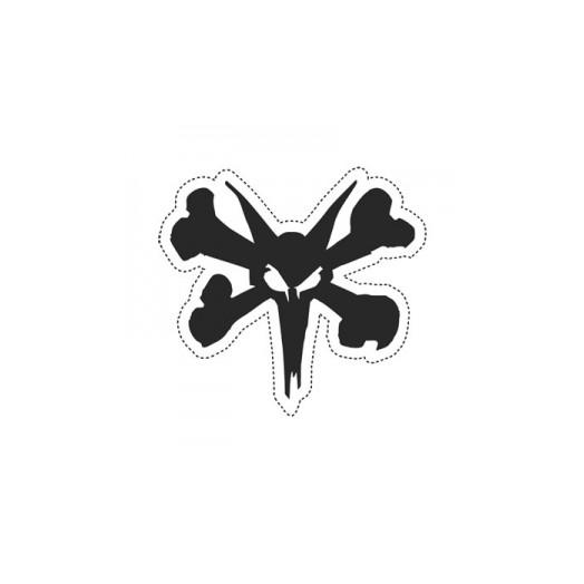"BONES WHEELS 5"" Rat Die Cut Sticker (Single)"