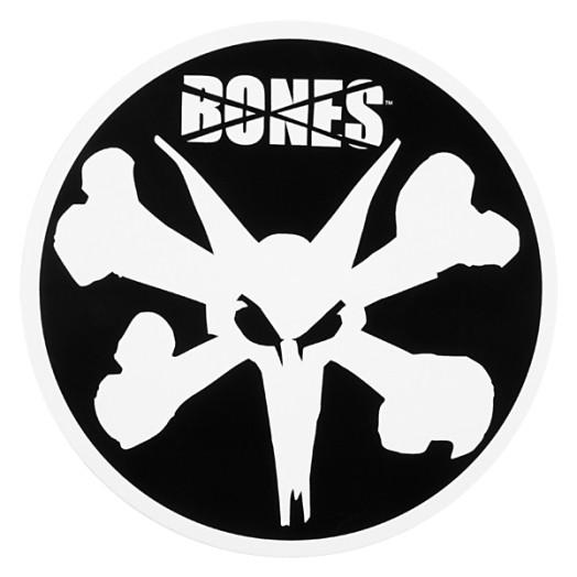 """BONES WHEELS 6"""" Rat Sticker (Single)"""