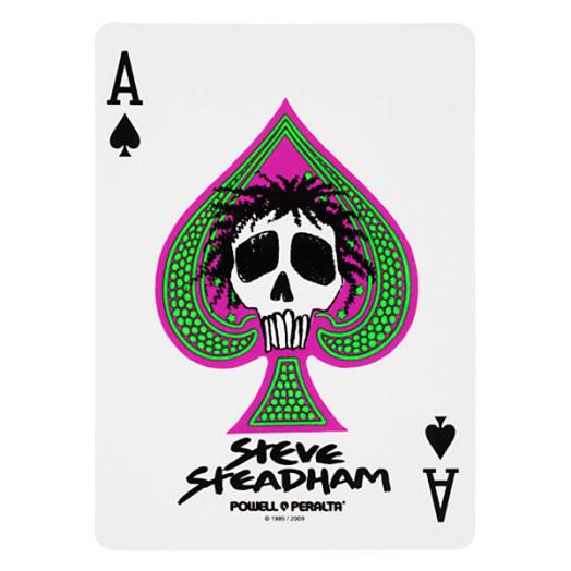 Powell Peralta Steve Steadham Spade Sticker (Single)