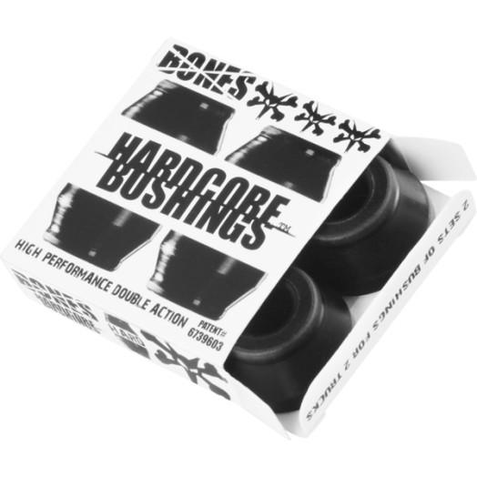 BONES® Hardcore Bushings® - Hard - Black (2 sets)