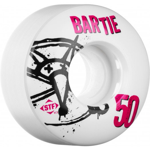 BONES WHEELS STF Pro Bartie Numbers 50mm 4pk