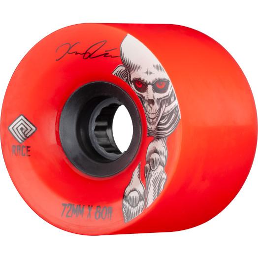 Powell Peralta Pro Kevin Reimer Downhill Skateboard Wheels Red 72mm 80A 4pk