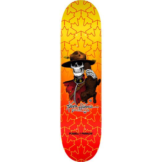 Powell Peralta Kevin Harris Mountie Skateboard Deck - 8 x 32.125
