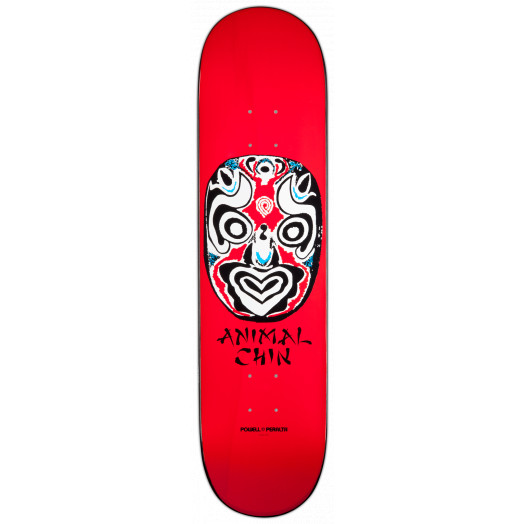 Powell Peralta LIGAMENT Chin Mask Deck Red - 8.25 x 32.5