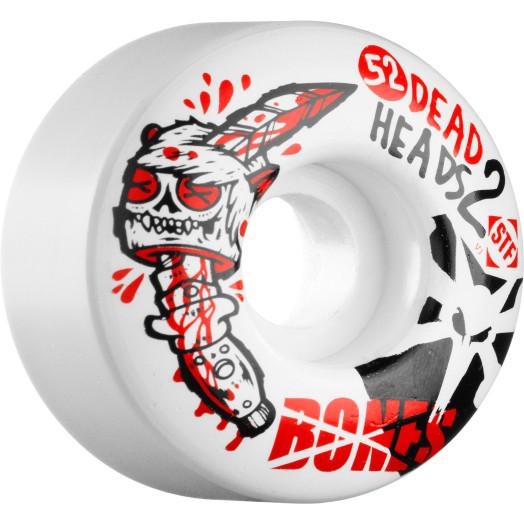 BONES WHEELS STF Dead Heads 2 52mm (4 pack)