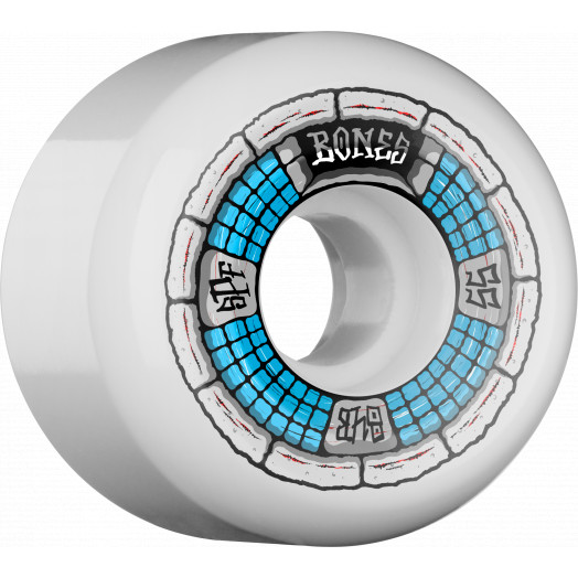 BONES WHEELS SPF Deathbox 55x32 Skateboard Wheels 84B 4pk