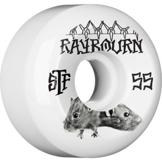 BONES STF Pro Raybourn Choose 55x32 V5 Skateboard Wheel 83B 4pk