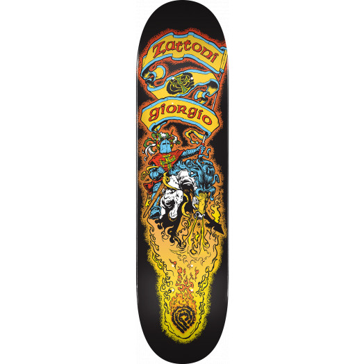 Powell Peralta Pro Giorgio Zattoni Blem Skateboard Deck - 8 x 31.45