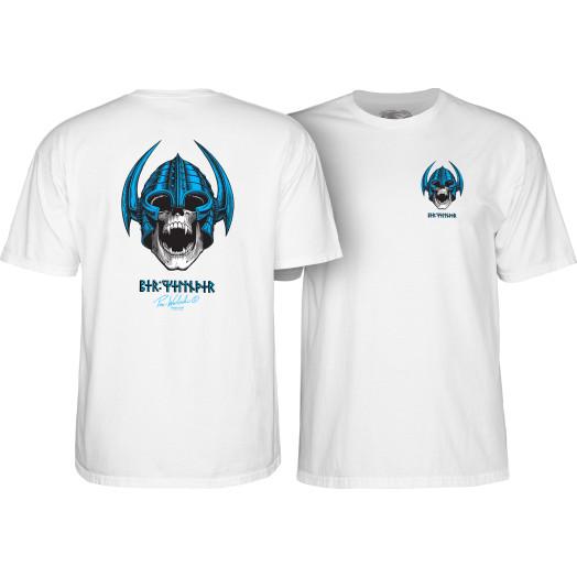 Powell Peralta Welinder Nordic Skull T-shirt - White